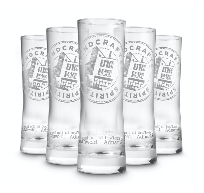 Copper House Long Spirit Glass, set of 6 - from Adnams