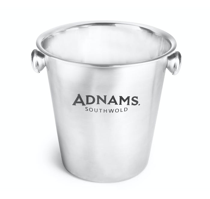 Adnams Stainless Steel Ice Bucket - from Adnams