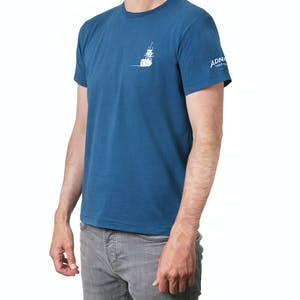 Adnams Ghost Ship Blue T-Shirt (L)