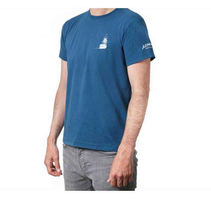 Adnams Ghost Ship Blue T-Shirt - from Adnams