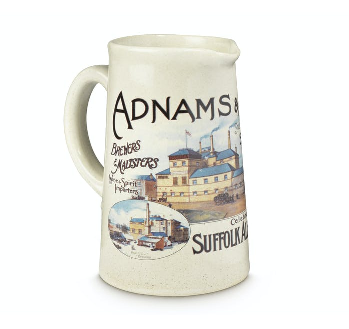 Adnams Ceramic One Pint Jug - from Adnams