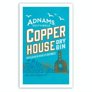 Adnams Copper House Dry Gin Tea Towel