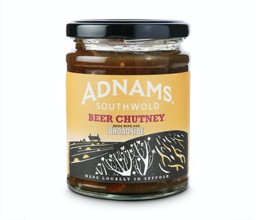 Adnams Beer Chutney made with Broadside - from Adnams
