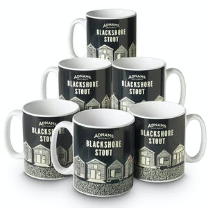 Adnams Blackshore Stout Mug, box of 6
