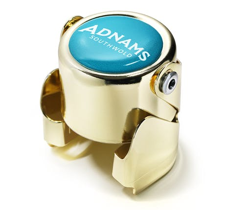 Adnams Teal & Gold Champagne Stopper
