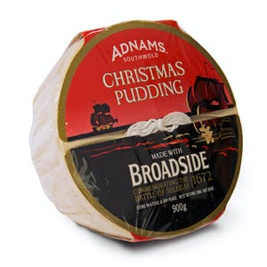 Adnams Broadside Christmas Pudding, 900gm