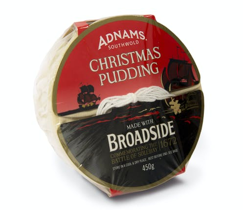 Adnams Broadside Christmas Pudding - from Adnams