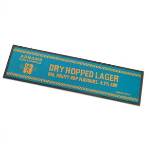 Jack Brand Dry Hopped Lager Bar Runner