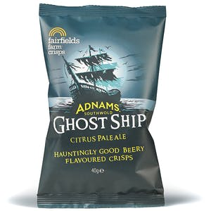 Adnams Ghost Ship Crisps, Box of 24 x 40g packets