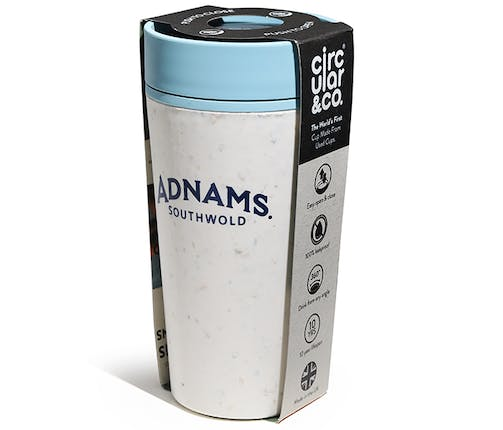 Adnams Coffee Cup Cream and Blue
