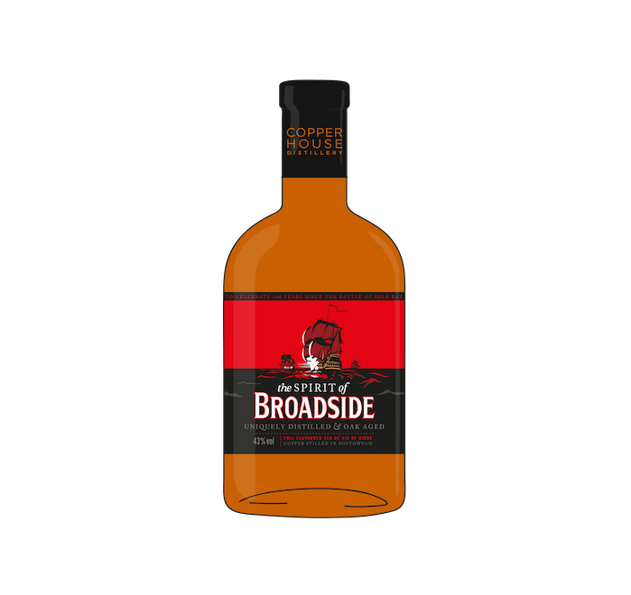 Adnams Spirit of Broadside, 70cl 43% - from Adnams