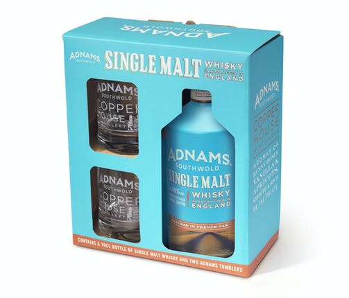 Adnams Single Malt Whisky Gift Set