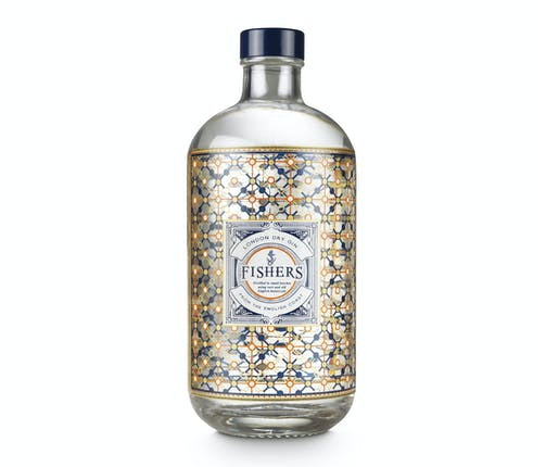 Fishers Gin 44% 50cl - from Adnams