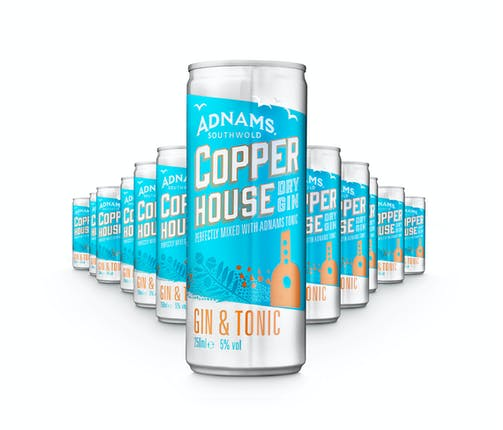 Adnams Copper House Gin & Tonic Cans