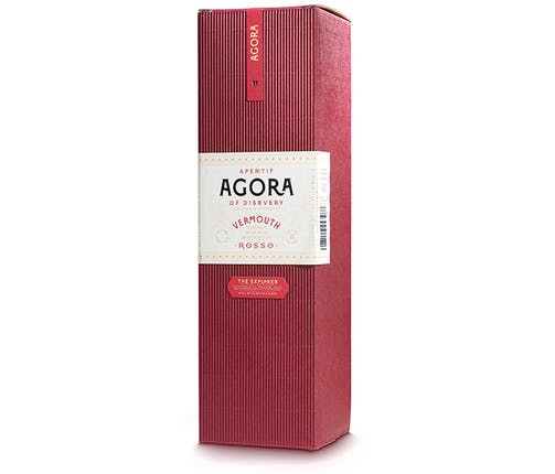 Agora Vermouth Rosso The Explorer 50CL (Gift Box)