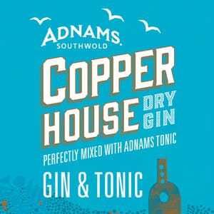 Adnams Gin & Tonic cans
