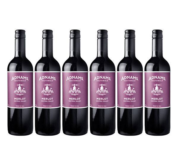 6 x Adnams Merlot, Central Valley