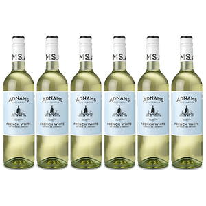 6 x Adnams French White