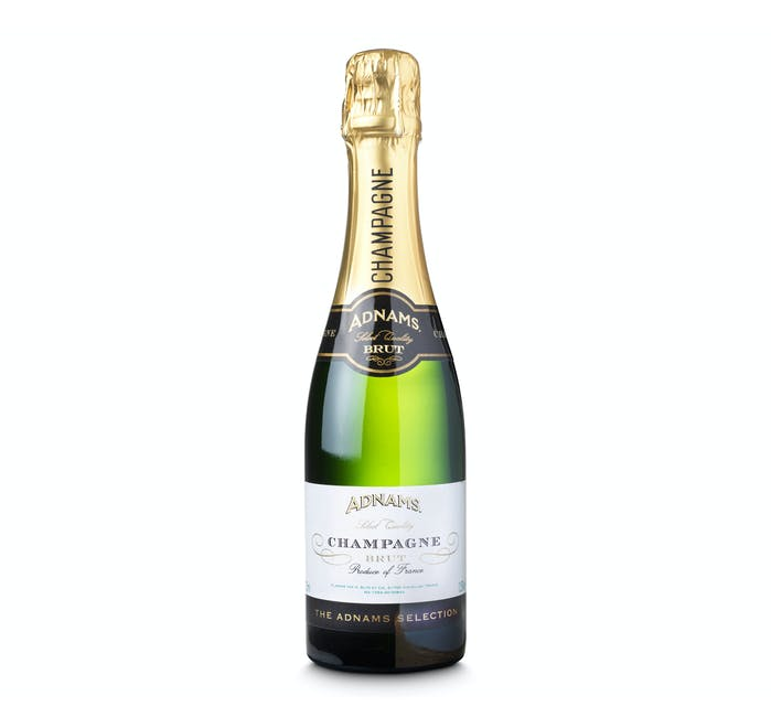 Adnams Champagne, Brut, Half Bottle - from Adnams