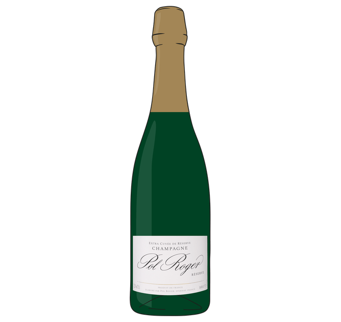 Pol Roger Reserve Champagne - from Adnams