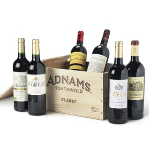 Claret Case, 6-bottle wooden case