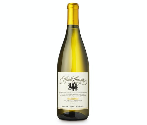 Chardonnay, Three Thieves, California, USA - from Adnams