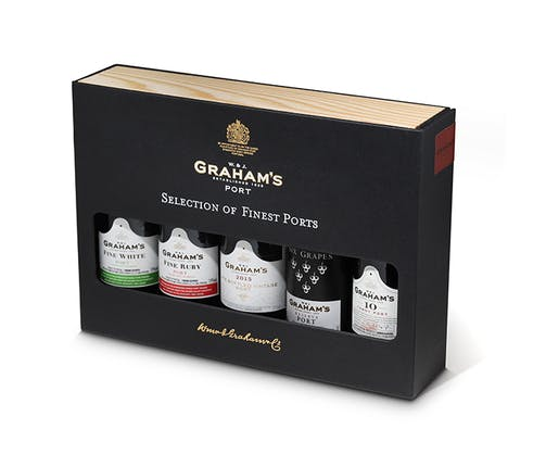 Graham's Mini Port Selection 5 x 5cl