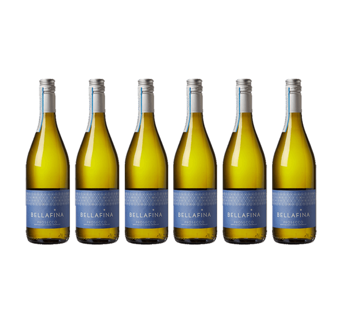 Six Bottle Prosecco Frizzante, Bellafina