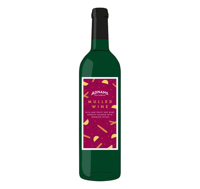 Adnams Mulled Wine - from Adnams